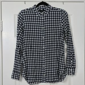 J.Crew Boy Fit Button Down Shirt